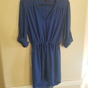 Naked Zebra Blue Dress